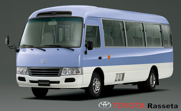 TOYOTA COASTER Bus 30 places - HZB50L