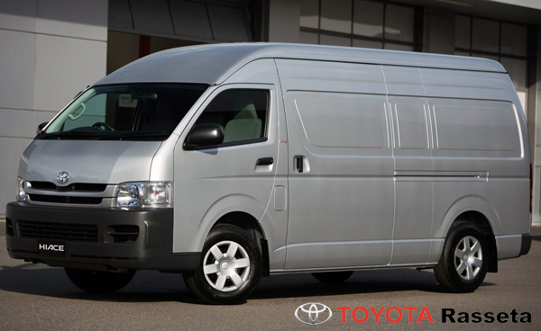 TOYOTA HIACE High Roof Fourgon