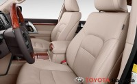 2013 toyota land cruiser front seats