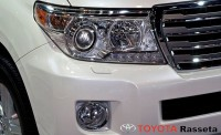 2013 toyota land cruiser headlight
