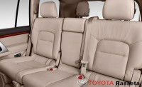 2013 toyota land cruiser rear seats