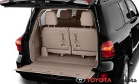 2013 toyota land cruiser trunk