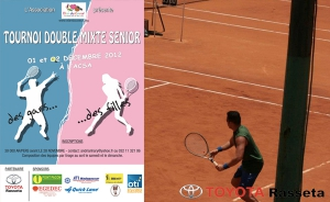 Tournoi double mixte senior